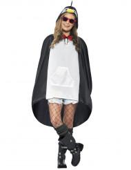 Pinguin-Poncho für Erwachsene