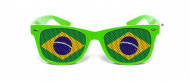 Brasilien Fan Brille