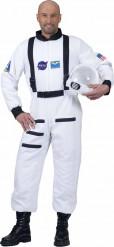 Weißes Astronaut Kostüm für Erwachsene