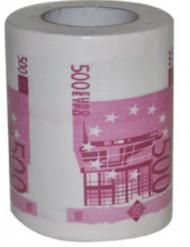 Toilettenpapier 500 Euro-Schein