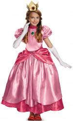 Prinzessin Peach™ Verkleidung Deluxe für Mädchen