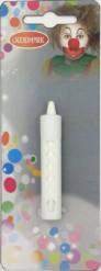 Fasching Schminkstift weiß 2,3g