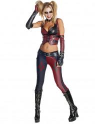 Harley Quinn Kostüm für Damen aus Batman Arkham City™