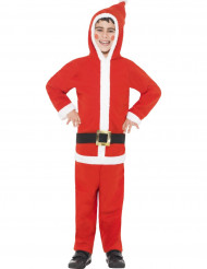 Ganzkörper Weihnachtsmann Kostüm für Jungen