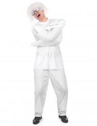 Kostüm Geisteskranker mit Zwangsjacke für Erwachsene