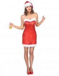 Sexy Miss Santa Kostüm für Damen