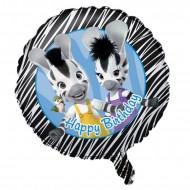Geburtstagsluftballon Zou Aluminium