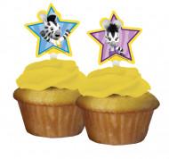 12 Dekorationen für Cupcakes Zeo