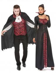 Vampir Paarkostüm für Erwachsene