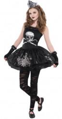 Dunkle Ballerina Halloweenkostüm für Teenager