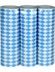 Weiß-blaue Luftschlangen Oktoberfest