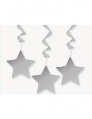 3 Hängedekos - Sterne