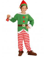 Weihnachtselfen-Kostüm für Kinder