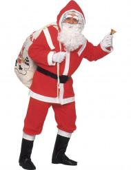 Deluxe Santa Claus Weihnachtsmann Kostüm für Erwachsene