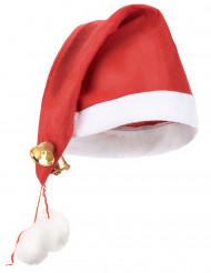 Santa Claus Schellenmütze XXL für Erwachsene