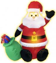 Aufblasbare Weihnachtsmann-Dekoration