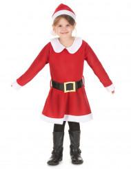 Miss Santa Kostüm für Mädchen