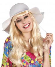Sommerlicher Hut Weiß für Damen