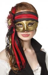Venezianische Piraten-Maske
