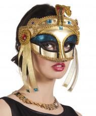 Ägyptische Herrscherin-Maske für Damen