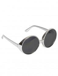 Diskotheken Sonnenbrille für Erwachsene in Silber