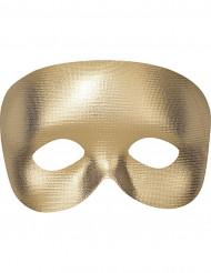 Goldene Halbmaske für Erwachsene