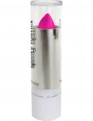 Neon-Lippenstift Make-Up pink