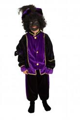 Knecht Ruprecht Verkleidung violett für Kinder