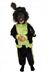 Knecht Ruprecht Verkleidung grün für Kinder