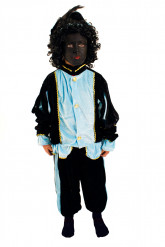 Knecht Ruprecht Verkleidung blau für Kinder