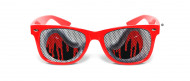 Brille rotes Blut