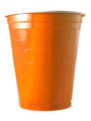 20 orange Becher - USA Stile