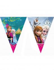 Die Eiskönigin™-Wimpel-Girlande für Mädchen Frozen bunt