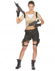 Sexy Soldatin Kostüm Damen