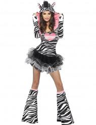 Sexy Zebra Tutu Kostüm für Erwachsene