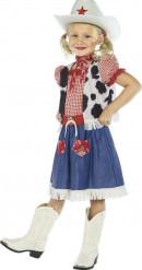 Cowboy Kostüm für Mädchen