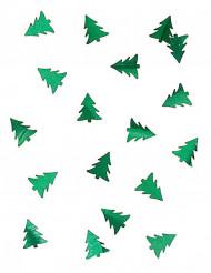 Konfetti grüne Tannenbäume 10g