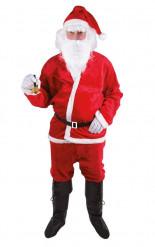 Santa Claus Weihnachtsmann Kostüm für Erwachsene