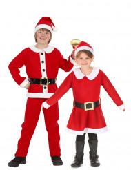 Miss Santa und Weihnachtsmann Paarkostüm für Kinder
