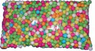 500 bunte Bällchen für Blasrohr