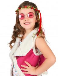 Blumenkranz für Kinder mit roten Blüten