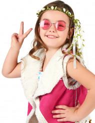 Blütenkranz weiß-grün für Kinder