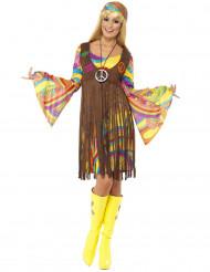 Retro Hippie Kostüm für Damen