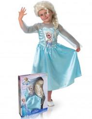 Kostüm Die Eiskönigin™ mit Perücke für Mädchen