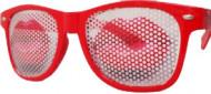 Brille roter Kussmund