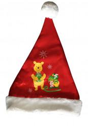 Weihnachtsmann Mütze Winnie the Pooh™ für Kinder