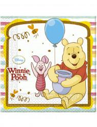 20 Winnie Puuh™ Papier Servietten
