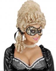 Goldene Maske mit Spitze für Damen