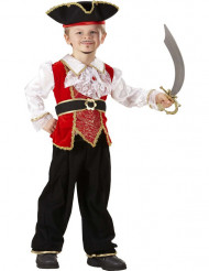 Piratenkostüm für Jungen bunt