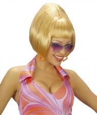 Blondhaar Perücke Retro für Damen
